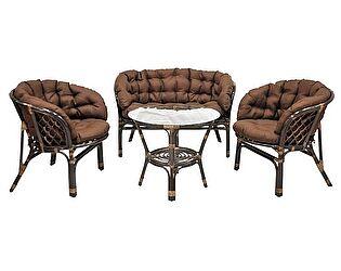 Купить  комплект садовой мебели ЭкоДизайн Комплект кофейный Багама S