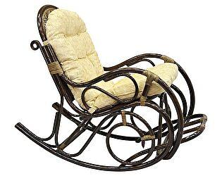 Кресло-качалка ЭкоДизайн 05/11 Б с подножкой
