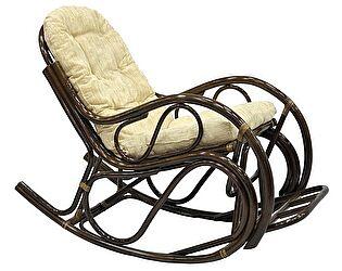 Кресло-качалка ЭкоДизайн с подножкой 05/17 Б