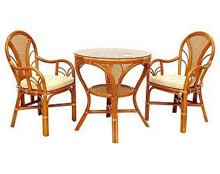 Купить  комплект садовой мебели ЭкоДизайн Комплект LaMokko L К обеденный