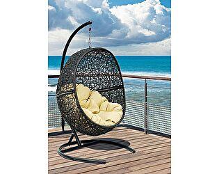 Кресло ЭкоДизайн LUNAR BLACK подвесное