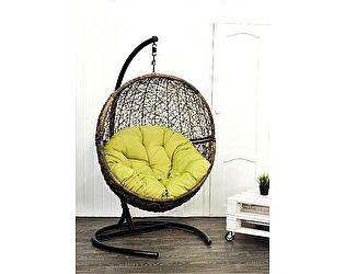 Кресло ЭкоДизайн LUNAR COFFEE подвесное