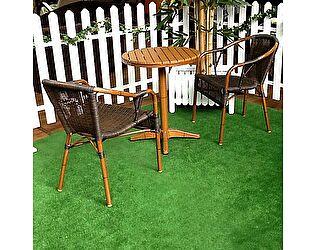 Комплект ЭкоДизайн 006  (стол + 2 кресла) обеденный