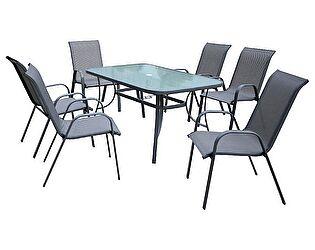 Комплект садовый ЭкоДизайн Kingston (стол + 6 кресел)