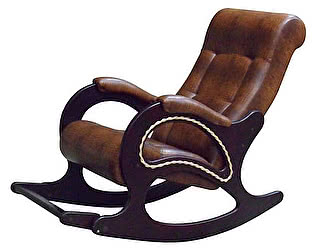 Кресло-качалка с подножкой ЭкоДизайн №44