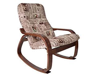 Кресло-качалка ЭкоДизайн Сайма (ткань)