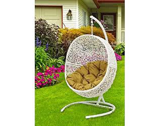 Кресло подвесное ЭкоДизайн Lunar White