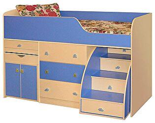 Кровать комбинированная №1 Радуга