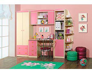 Комплект мебели для детской Радуга розовая