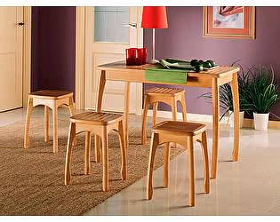Купить стол Элегия обеденный (массив решётка)