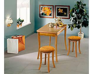 Стол обеденный с фигурной ножкой (нога тюльпан) Элегия