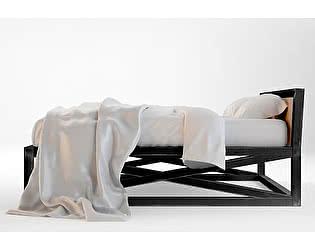 Кровать Этaжepкa Industrial двуспальная, ETG153