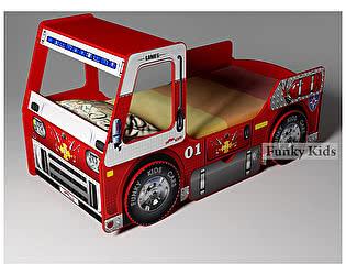 Кровать Фанки Кидз Пожарная машина