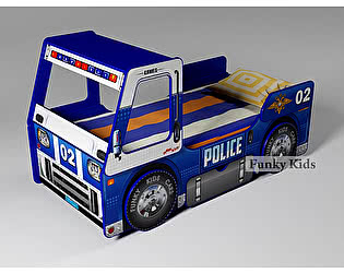 Купить кровать Фанки Кидз Полицейская машина