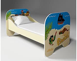 Кровать Фанки Капитан Флинт (80х190), ФБ-КР6