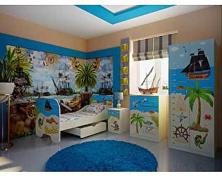 Мебель для детской комнаты Фанки Капитан Флинт, комплектация 1