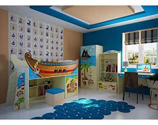 Мебель для детской комнаты Фанки Капитан Флинт, комплектация 2