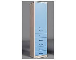 Шкаф с одной дверью и 6 ящиками Фанки Сити, ФС-04