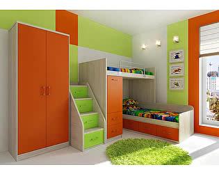 Мебель для детской  Фанки Сити, комплектация 1