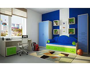 Мебель для детской  Фанки Сити, комплектация 2