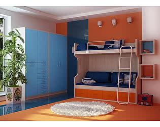 Мебель для детской  Фанки Сити, комплектация 4