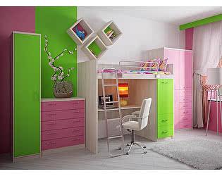 Мебель для детской  Фанки Сити, комплектация 5