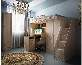 Мебель для детской комнаты Фанки Классика, комплектация 2