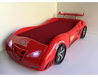 Кровать-машина Фанки Кидз Enzo с матрасом и ящиком для белья