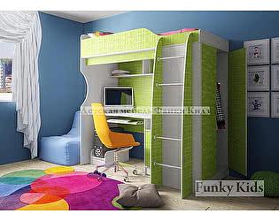 Кровать-чердак Фанки Кидз 11