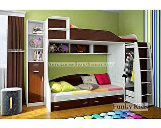 Кровать двухъярусная Фанки Кидз 12