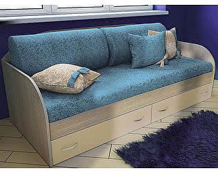 Комплект 5 диванных подушек и покрывало Фанки Крем