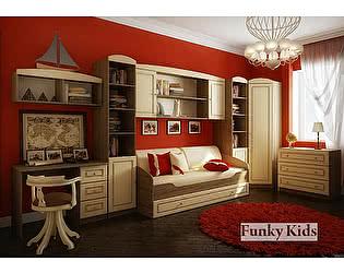Мебель для детской Фанки Крем, комплектация 1