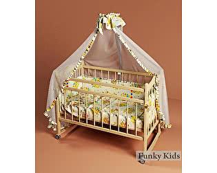 Кровать детская Фанки Литл-1 (колесо/качалка)