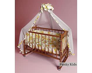 Кровать детская Фанки Литл-2 (автоспинка)