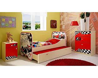 Мебель для детской  Фанки Беби Формула-1, комплектация 3