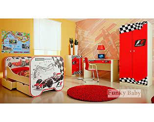 Мебель для детской  Фанки Беби Формула-1, комплектация 2