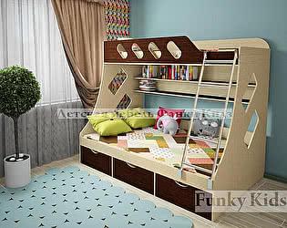 Кровать двухъярусная Фанки Кидз 16