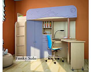 Кровать-чердак Фанки Соло-3