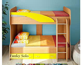 Кровать двухъярусная Фанки Кидз Соло-4