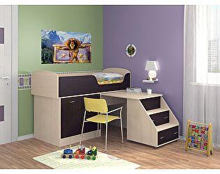 Кровать-чердак Формула мебели Дюймовочка 2