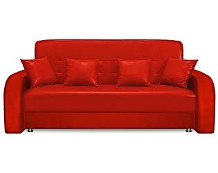 Диван Престиж 160х90 экокожа красная