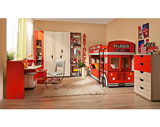 Мебель для детской комнаты Глазов Автобус 3