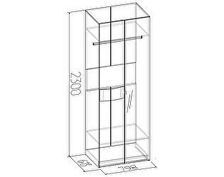 Шкаф для одежды Глазов Амели 11