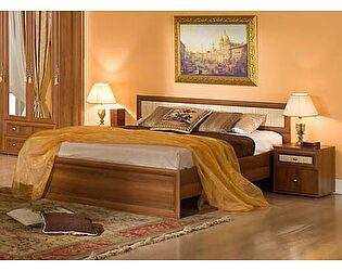 Кровать 2 Глазов Милана (140) орех