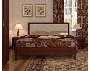 Кровать 3 (140) Montpellier Глазов, орех шоколадный