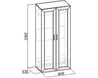 Шкаф для одежды и белья 2 Глазов Секрет