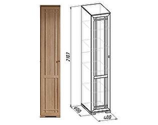 Шкаф для белья Глазов Sherlock 9 левый (дуб сонома)