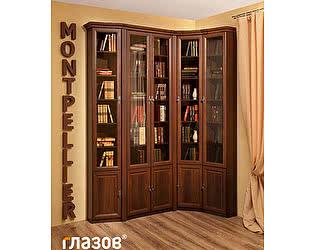 Библиотека Глазов Montpellier 3 (орех шоколадный)