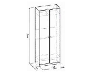 Шкаф для одежды Глазов Комфорт, мод. 6