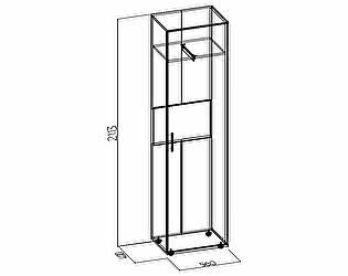 Шкаф для одежды и белья Глазов Wyspaa 5